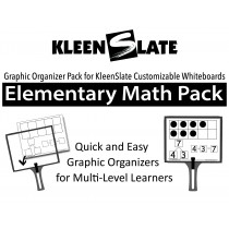Elementary Math Graphic Organizer Pack