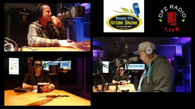 Heavy T's Grow Show w/ BlueLab Crew , Abstrax Tech and 4 Leaf Consulting in-studio