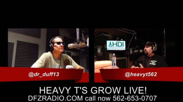 Heavy T's Grow Show Ask T Anything w/ Optic Foliar Part-1