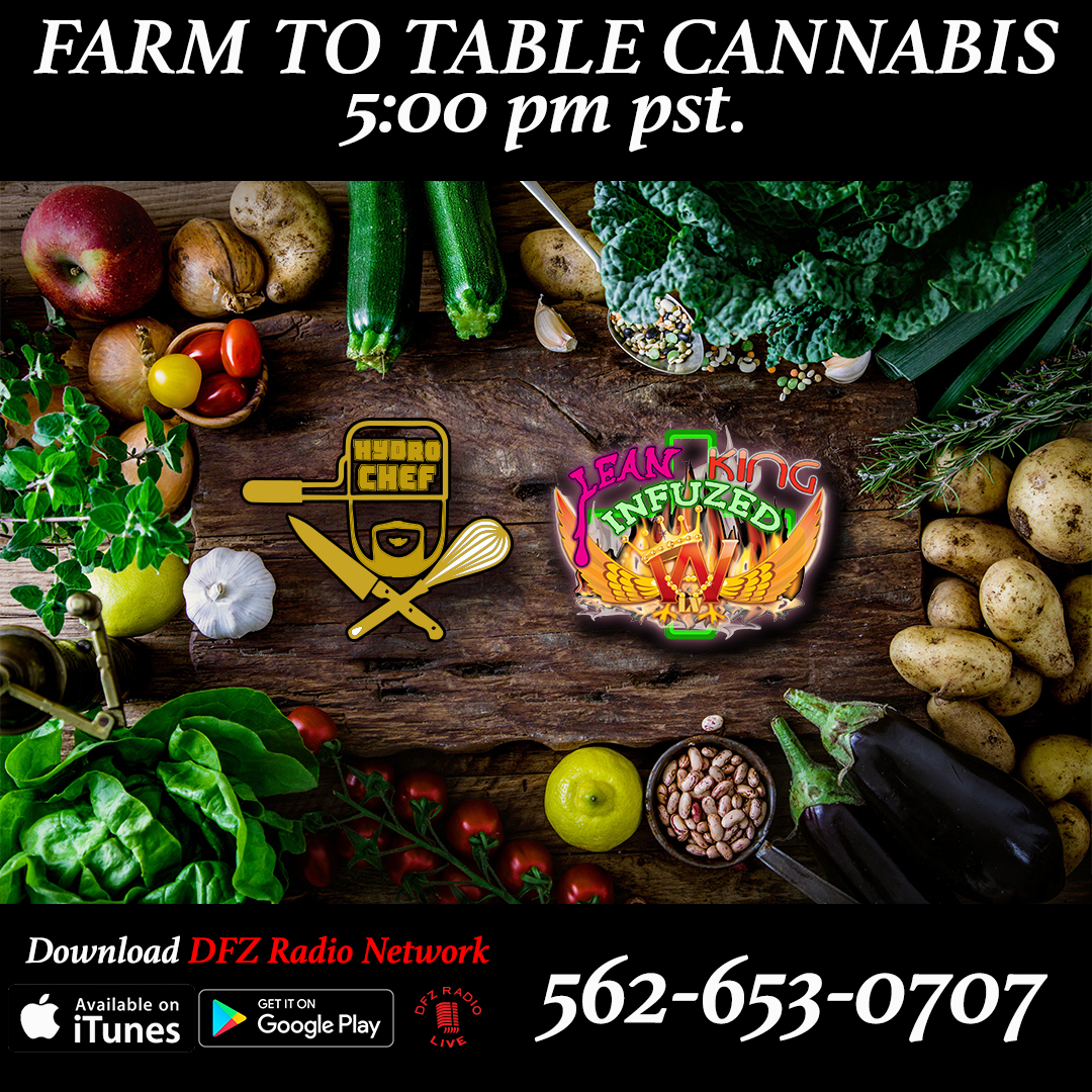 Farm to Table Cannabis ep # 6 w/ Wing Chef Brian Wing King Infuzed and Jayday @goldleaforganics goldleafcalifornia.com  8-1-17