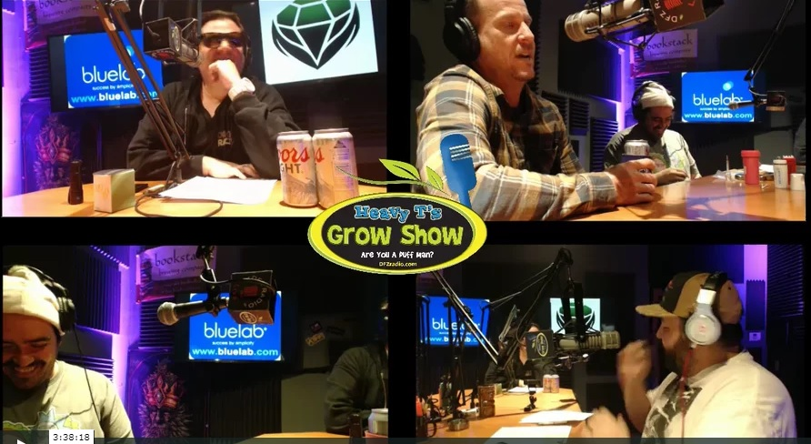 Heavy T Grow Show w/ Emerald Harvest in-studio and Oblend interview