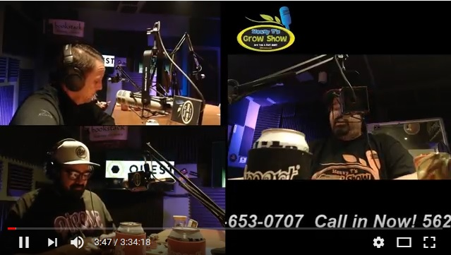 4-25-18 Heavy T Grow Show Grow Life in-studio grow life hydro and Smartpots in-studio