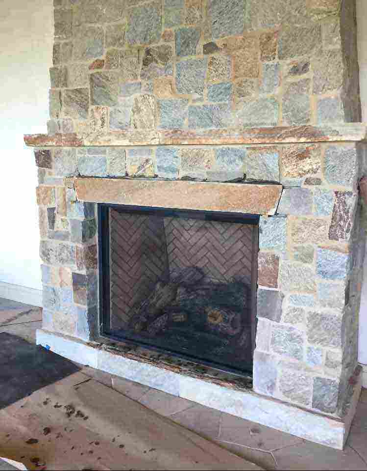 California Fireplace-Suffolk Rolling Hills