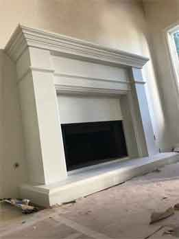 California Fireplace-Bondi Custom Mantel