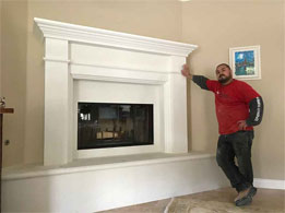 California Fireplace-Custom Mantel #3