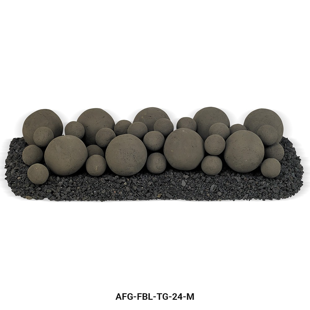 Thunder Gray Lite Stone Ball Set - Mixed