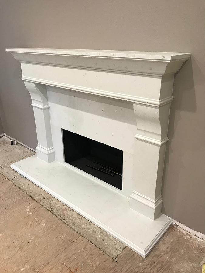 Califonia Fireplace MCGINNIS