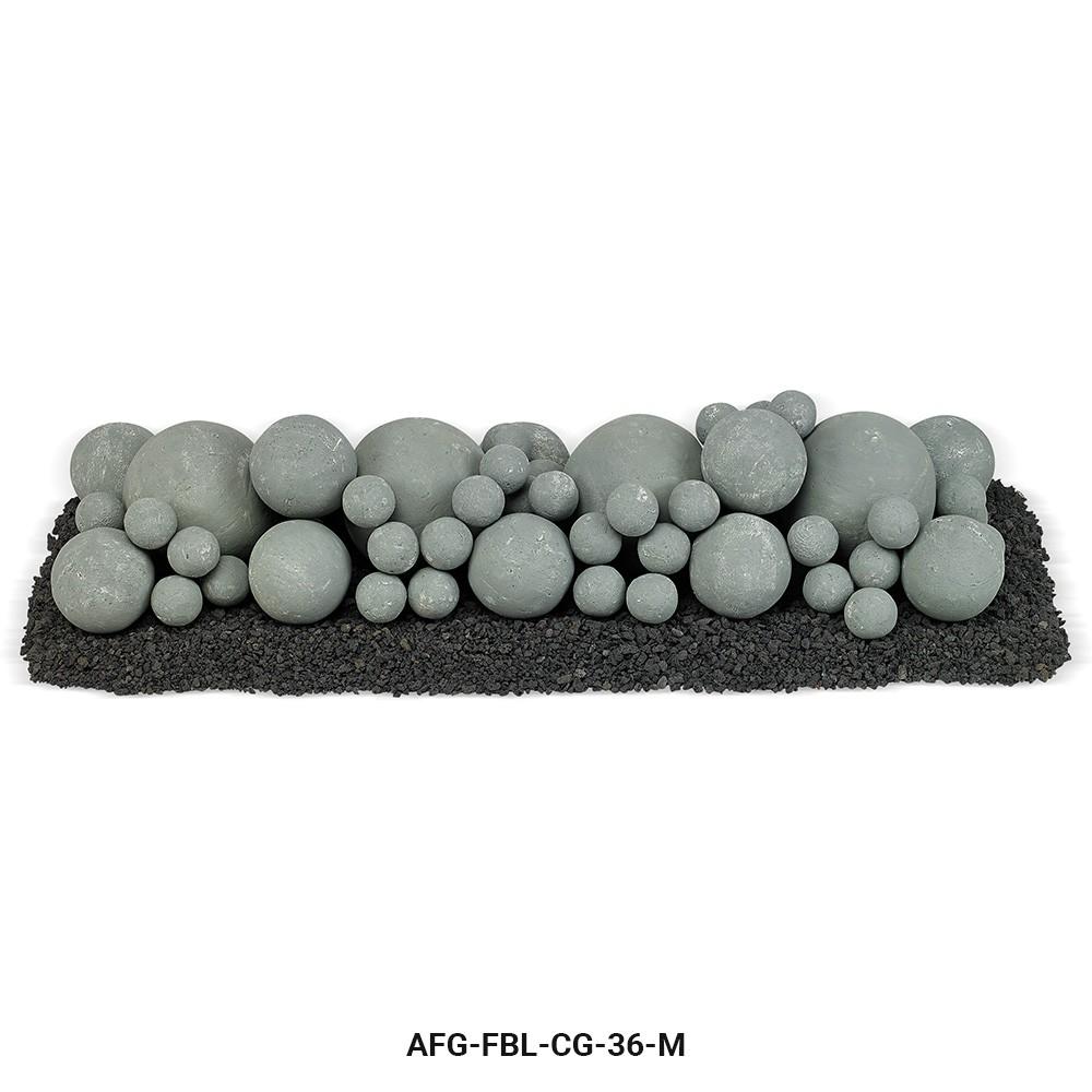 Cape Gray Lite Stone Ball Set Mixed