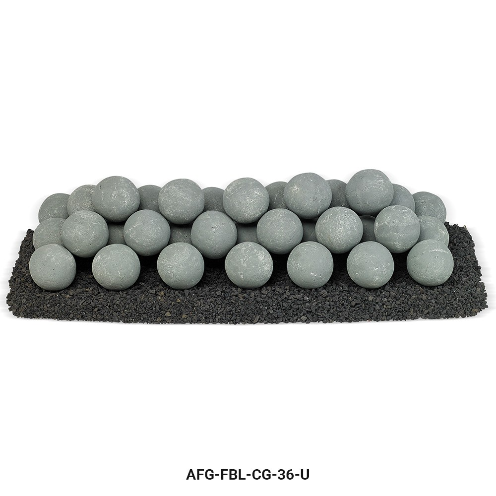 Cape Gray Lite Stone Ball Set Uniform 4 inches