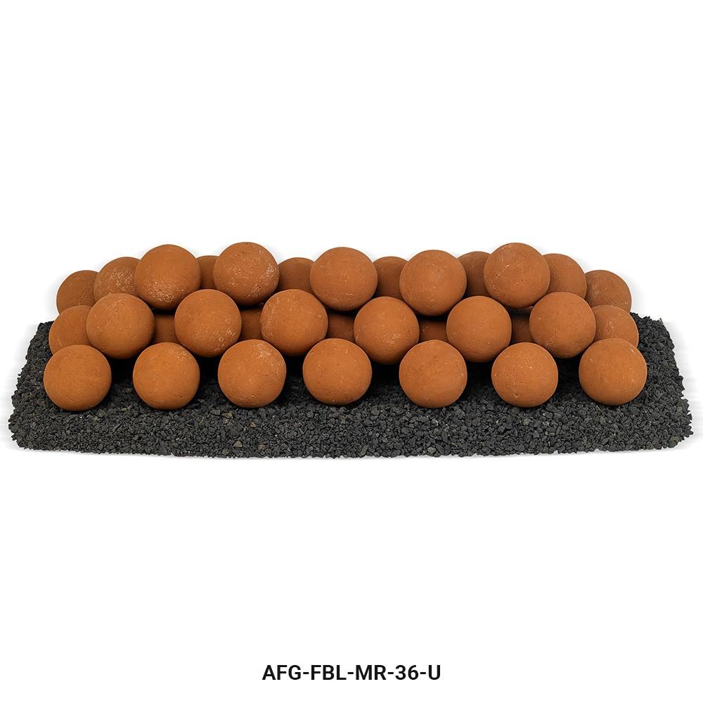 Mesa Red Lite Stone Ball Set - Uniform 4