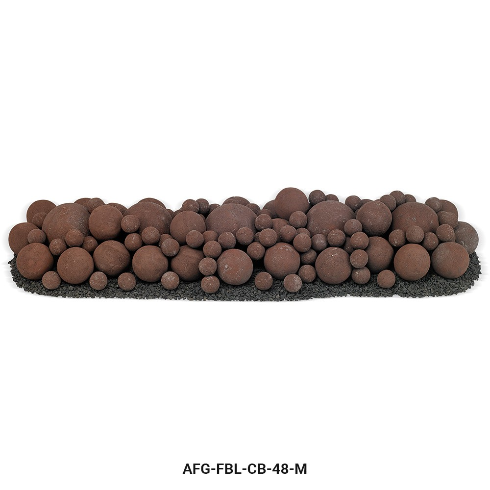 Cherry Bark Lite Stone Ball Mixed