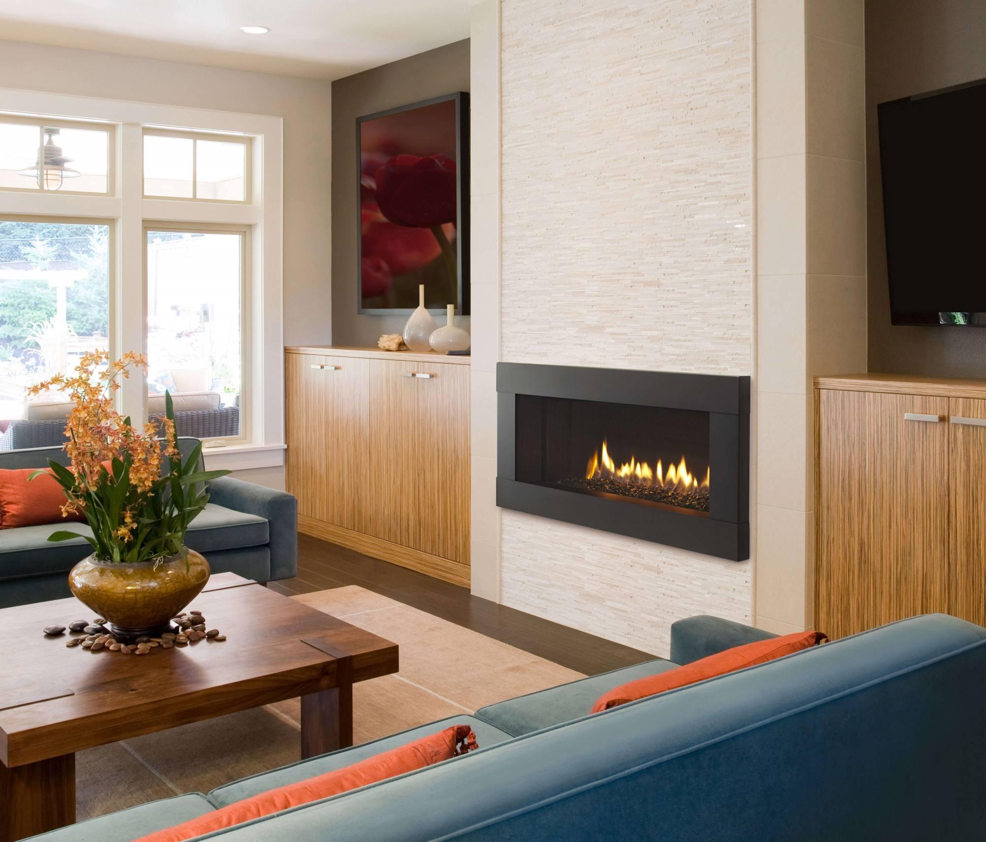 Modern California Fireplace; Modern California Fireplace ...