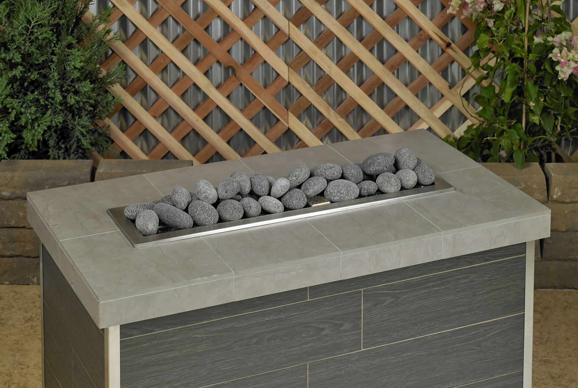 Large Gray Lava Stone 2 - 4 inches