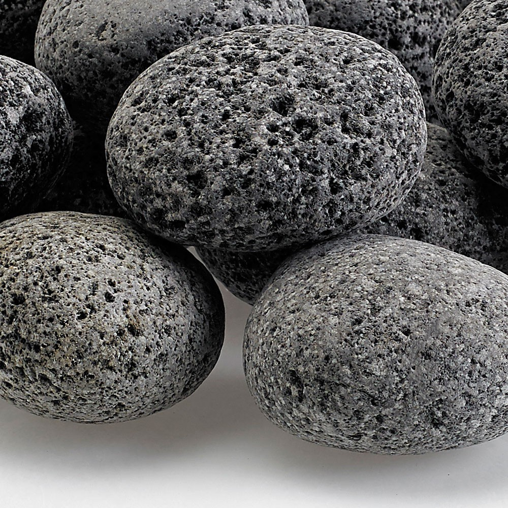 Medium Gray Lava Stone 1 - 2 inches