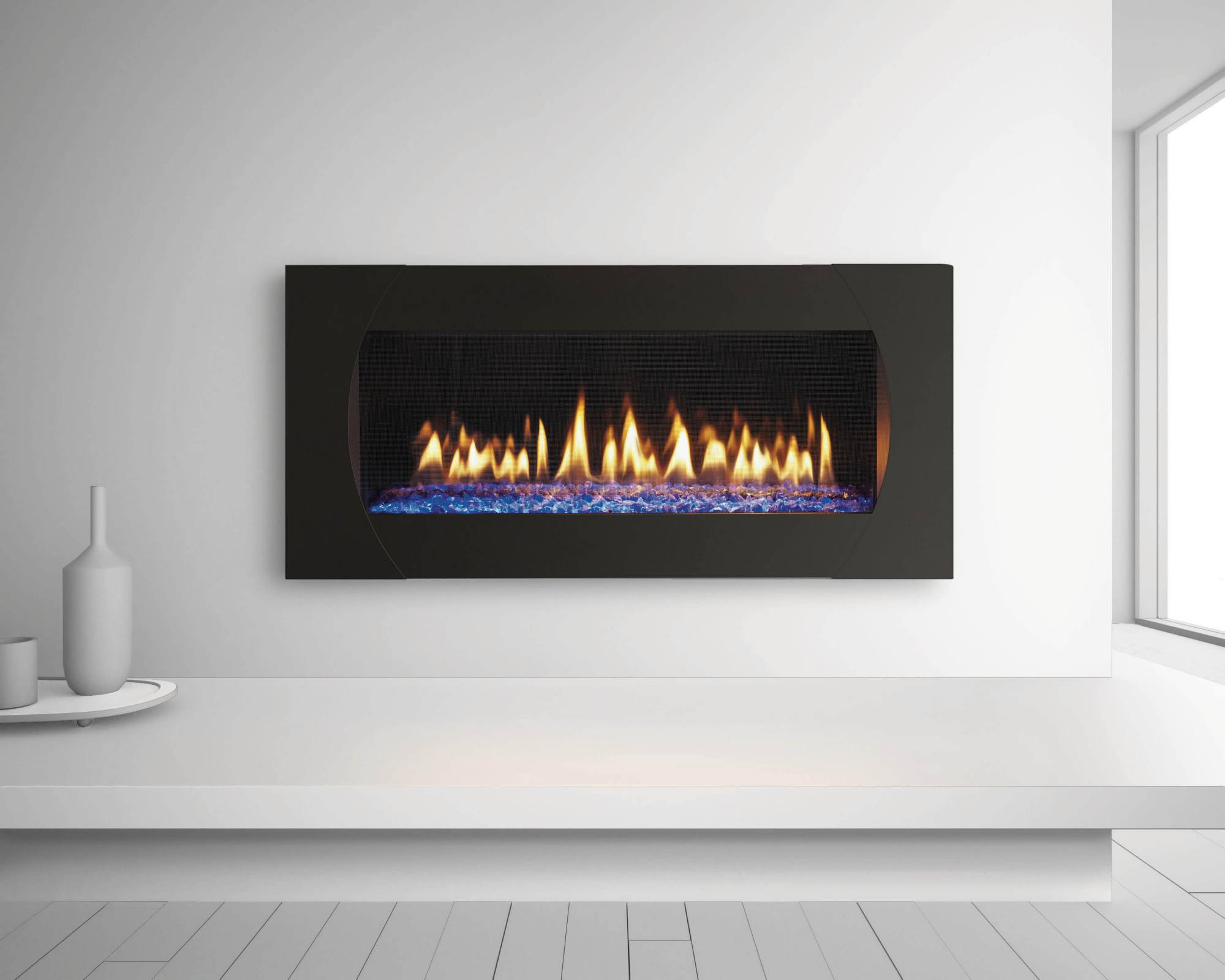 Heat Amp Glo Mezzo Series Modern California Mantel