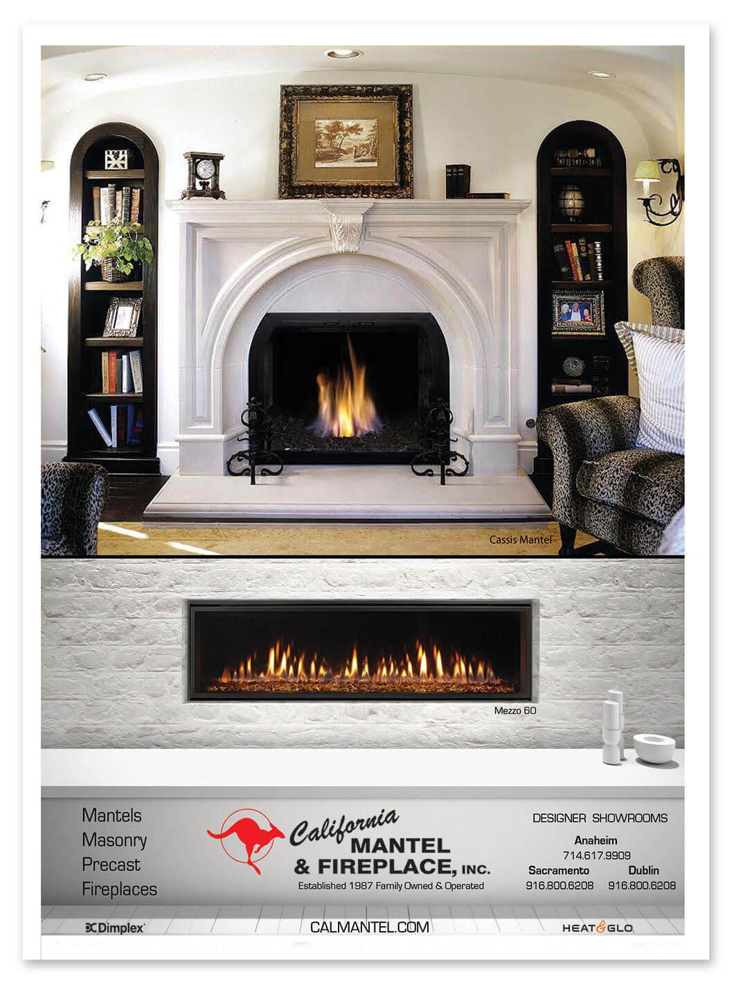 Modern Looking Fireplace