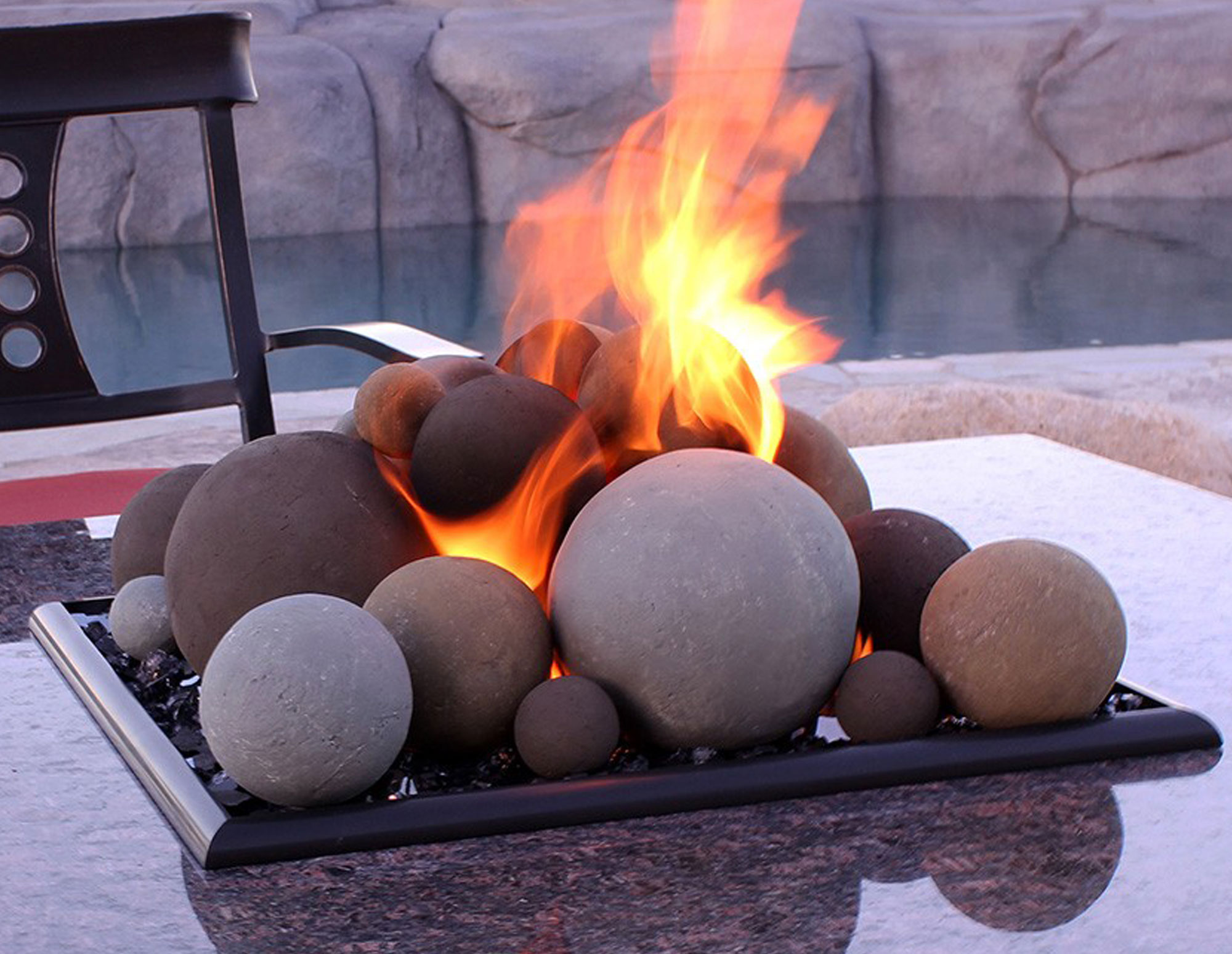 Mesa Red LIte Stone Ball Set - Mixed