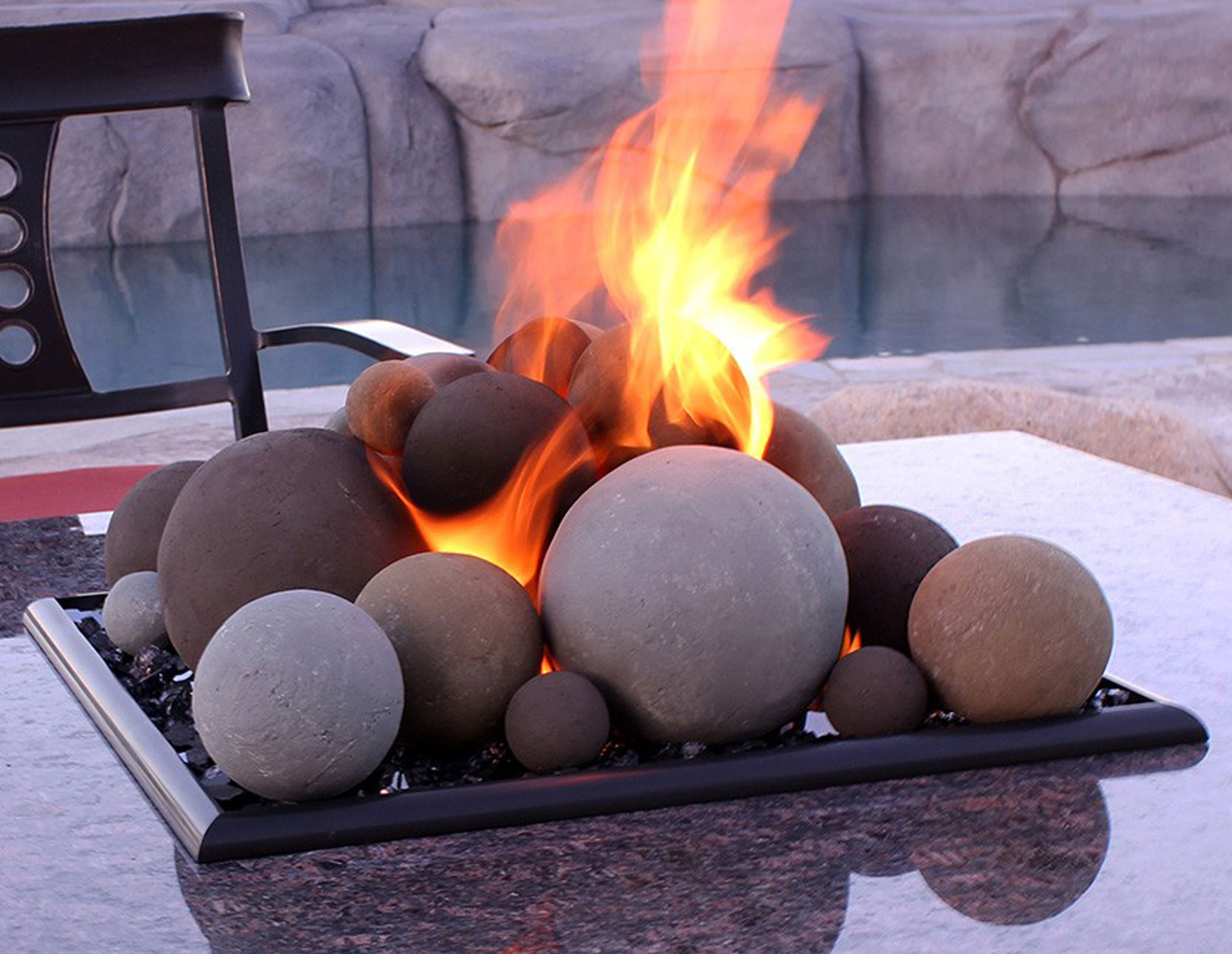 Natural Lite Stone Ball Set - Mixed