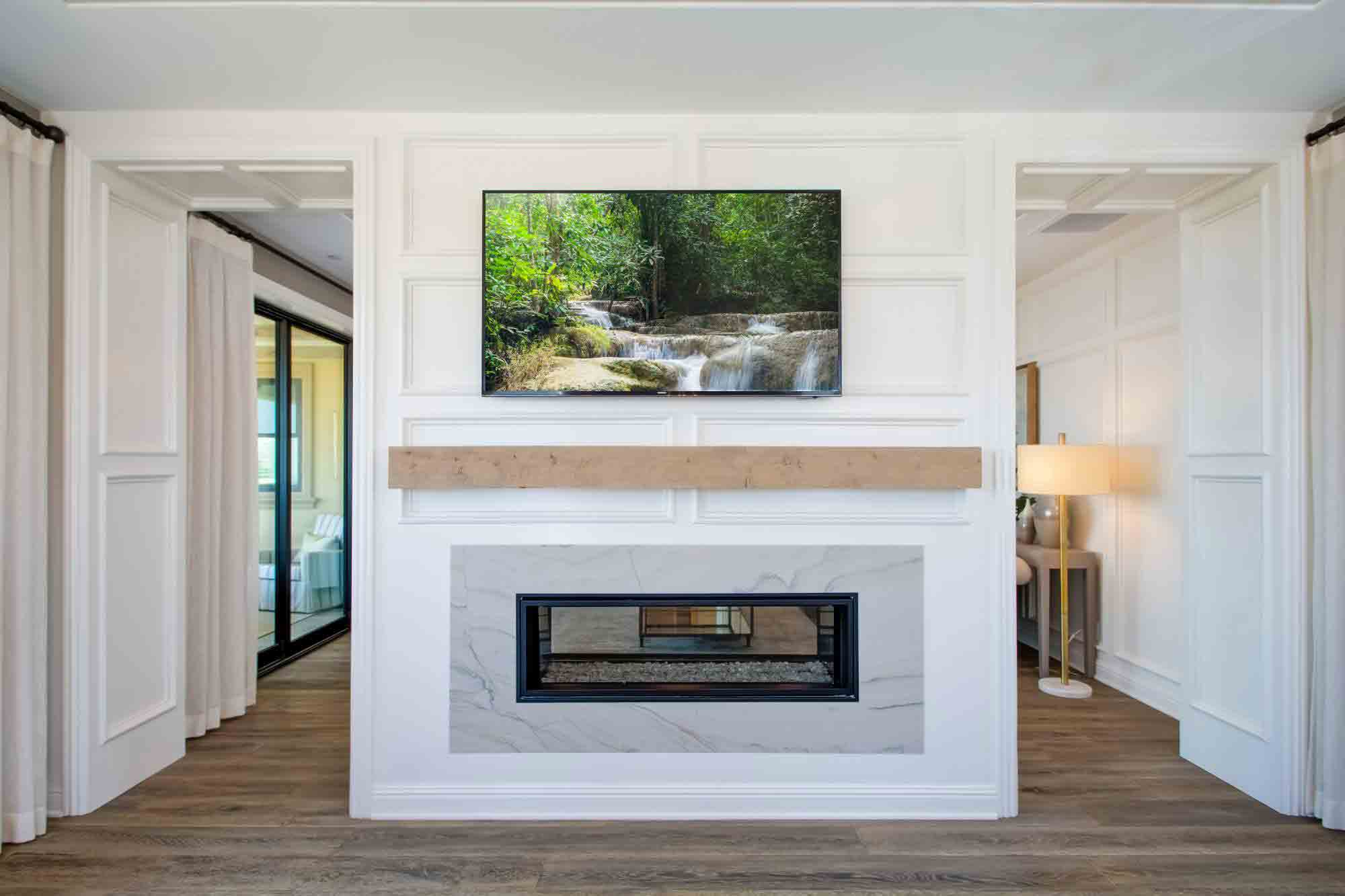 Mantel Shelves & Beams- Fireplace calmantel