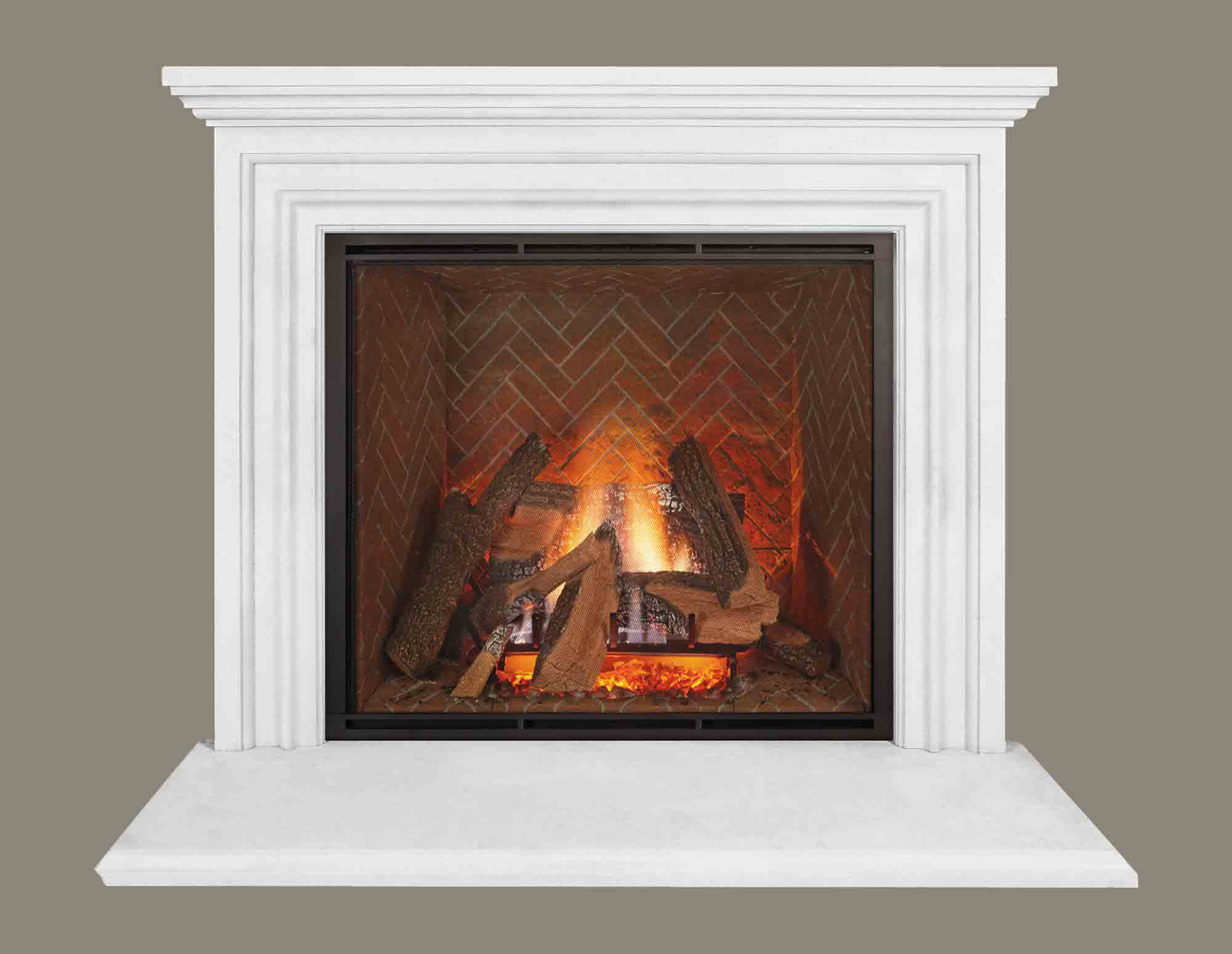 Fireplace calmantel