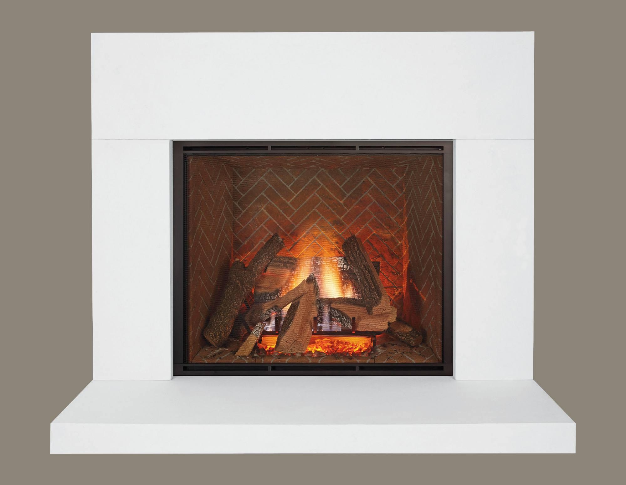 Pre Cast Modern Mantel Fireplace Fireplace Services