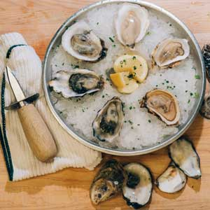 Oyster food and wine-Raw Bar by Slapfish-Huntington Beach-CA