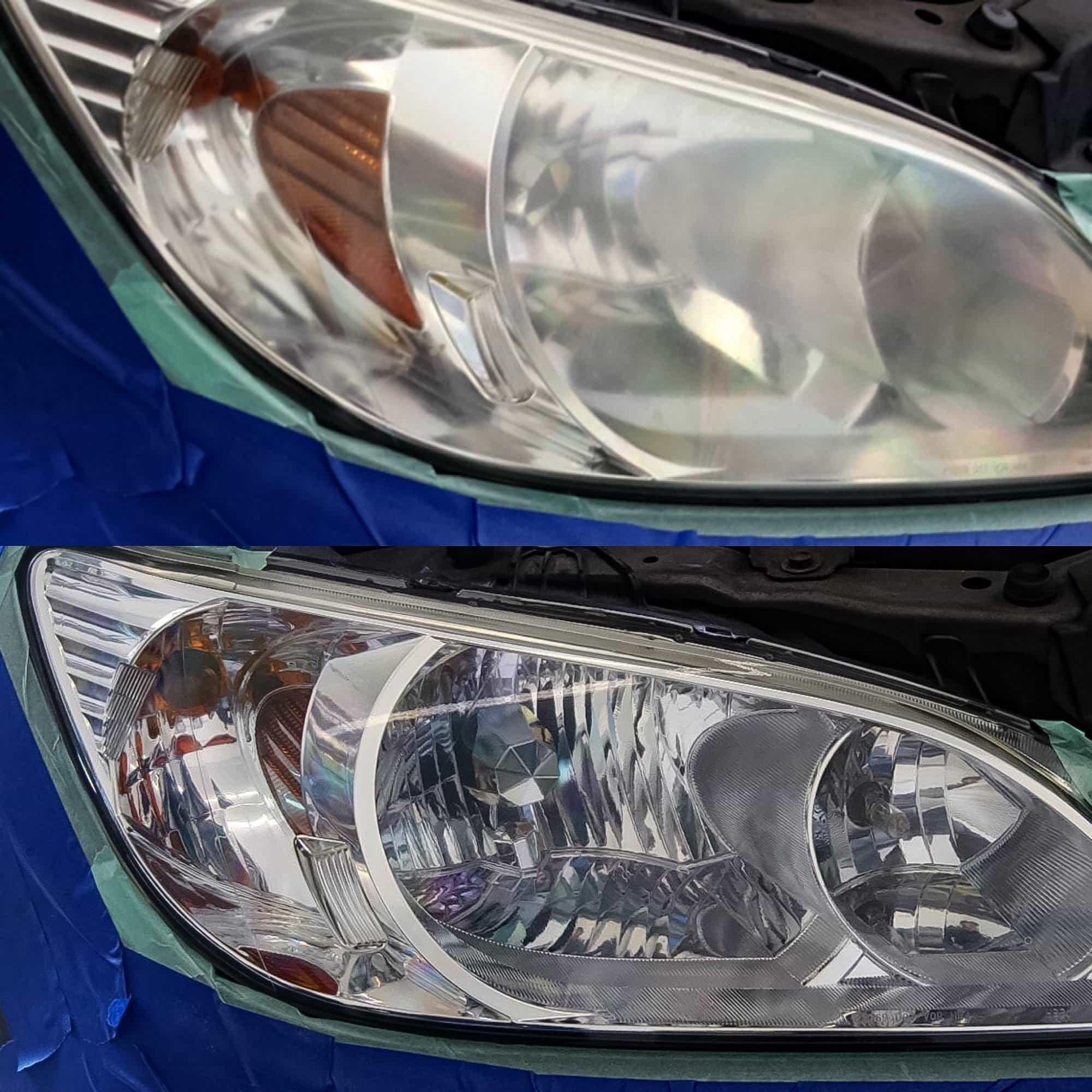 Certified Headlight Restoration