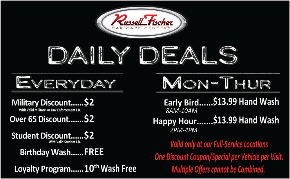 Daily Deals Full Service