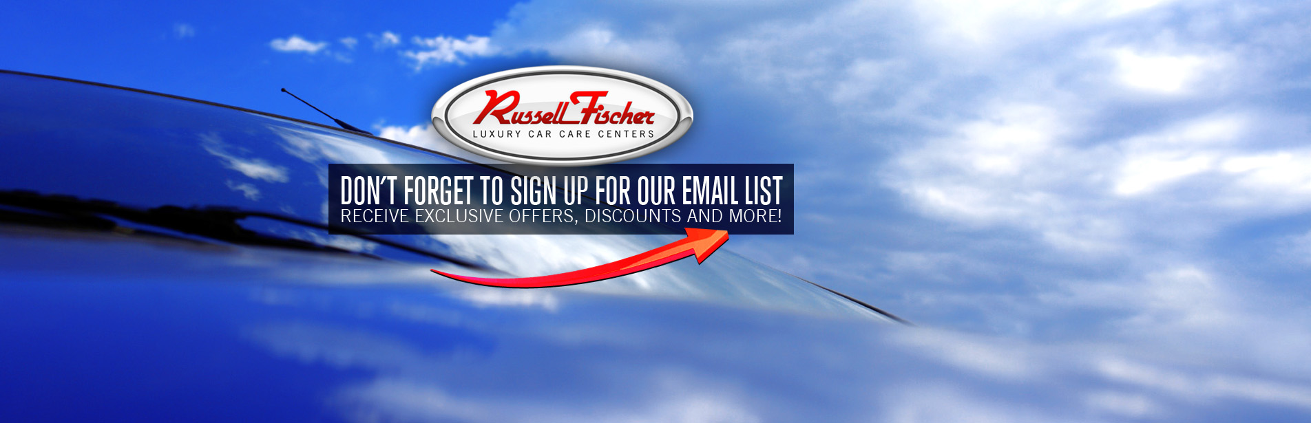 Don't Forget to sign up for our Email list