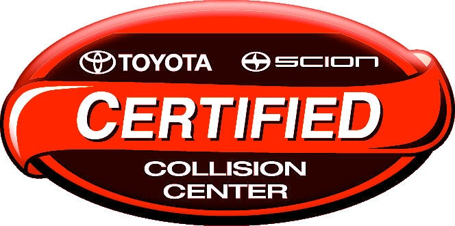 toyota certified auto body shop logo