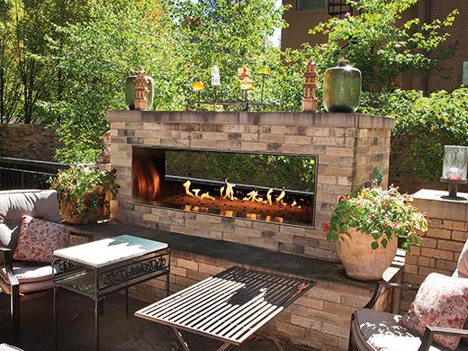outdoor linear fireplace store in anaheim calmantel